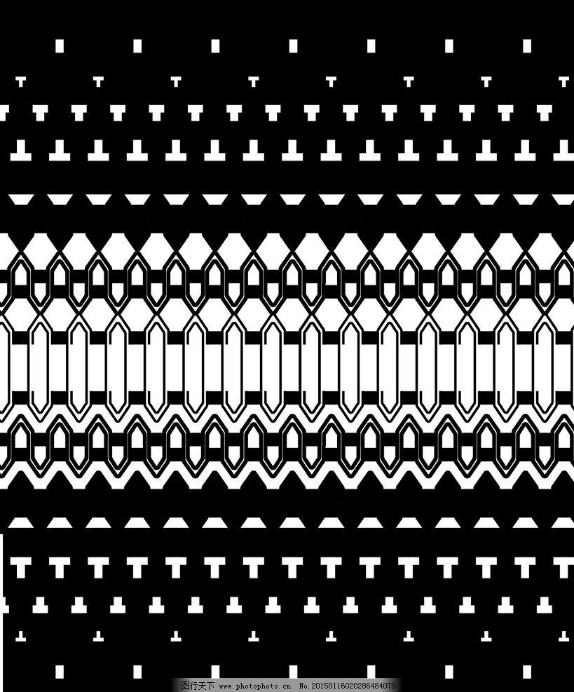 布纹印花 黑白花纹 背景图案