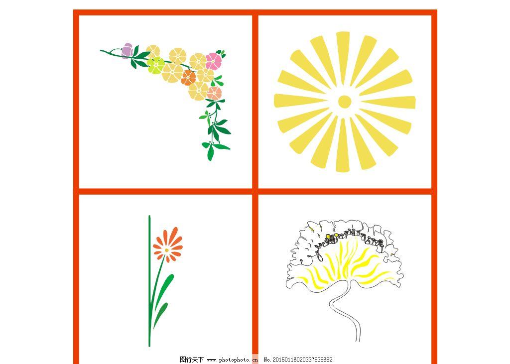 欧式花纹花边图片