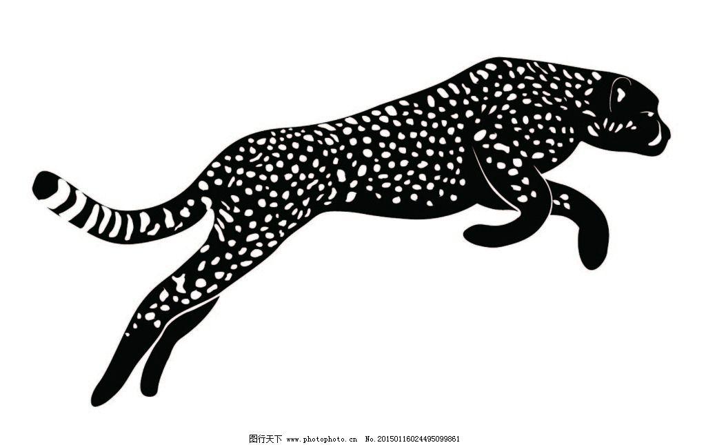 矢量猎豹图片