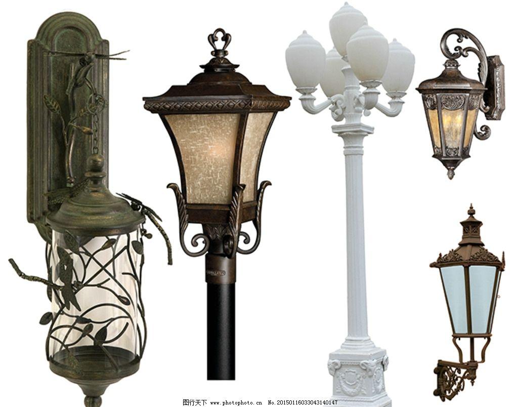 欧式路灯上的装饰图案有什么特点图片