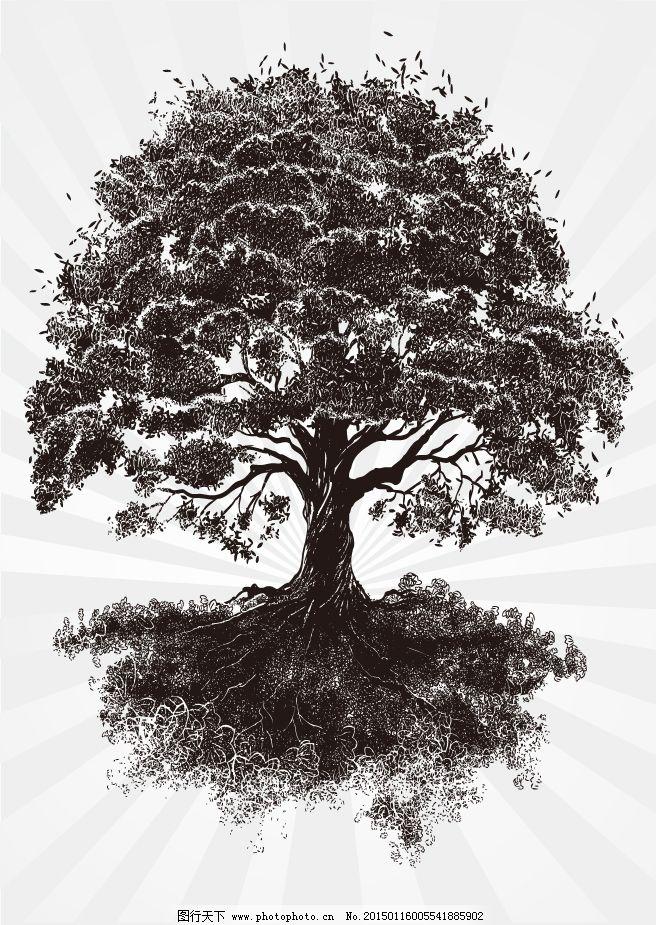 创意树木素材图片免费下载