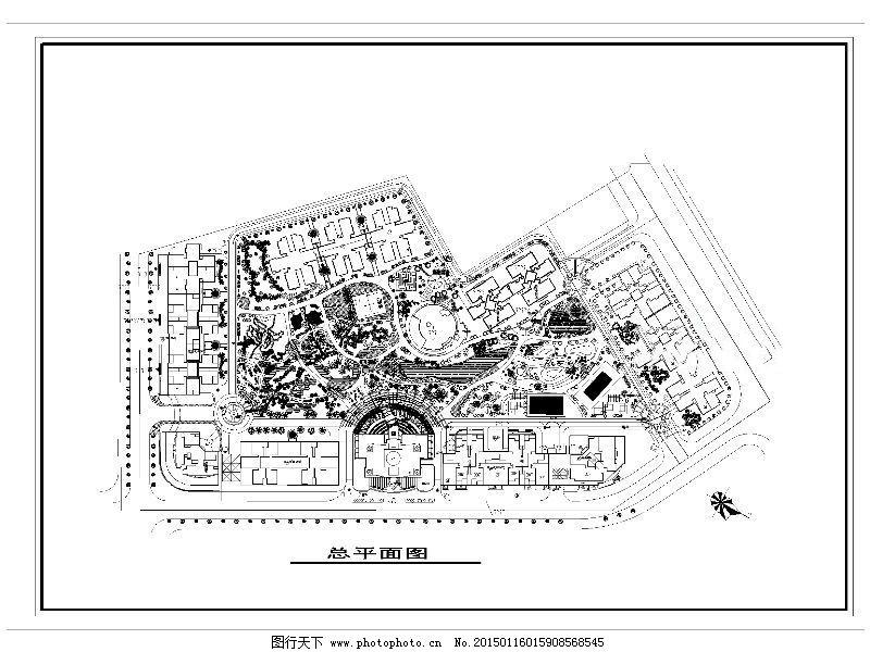 居民楼设计cad图纸 平面图 施工图 住宅小区 建筑图纸