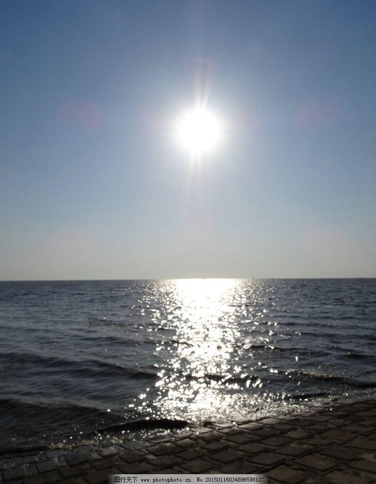 大海 海水 蓝天 波涛 阳光 太阳 天空 风景 海 风景 摄影 自然景观