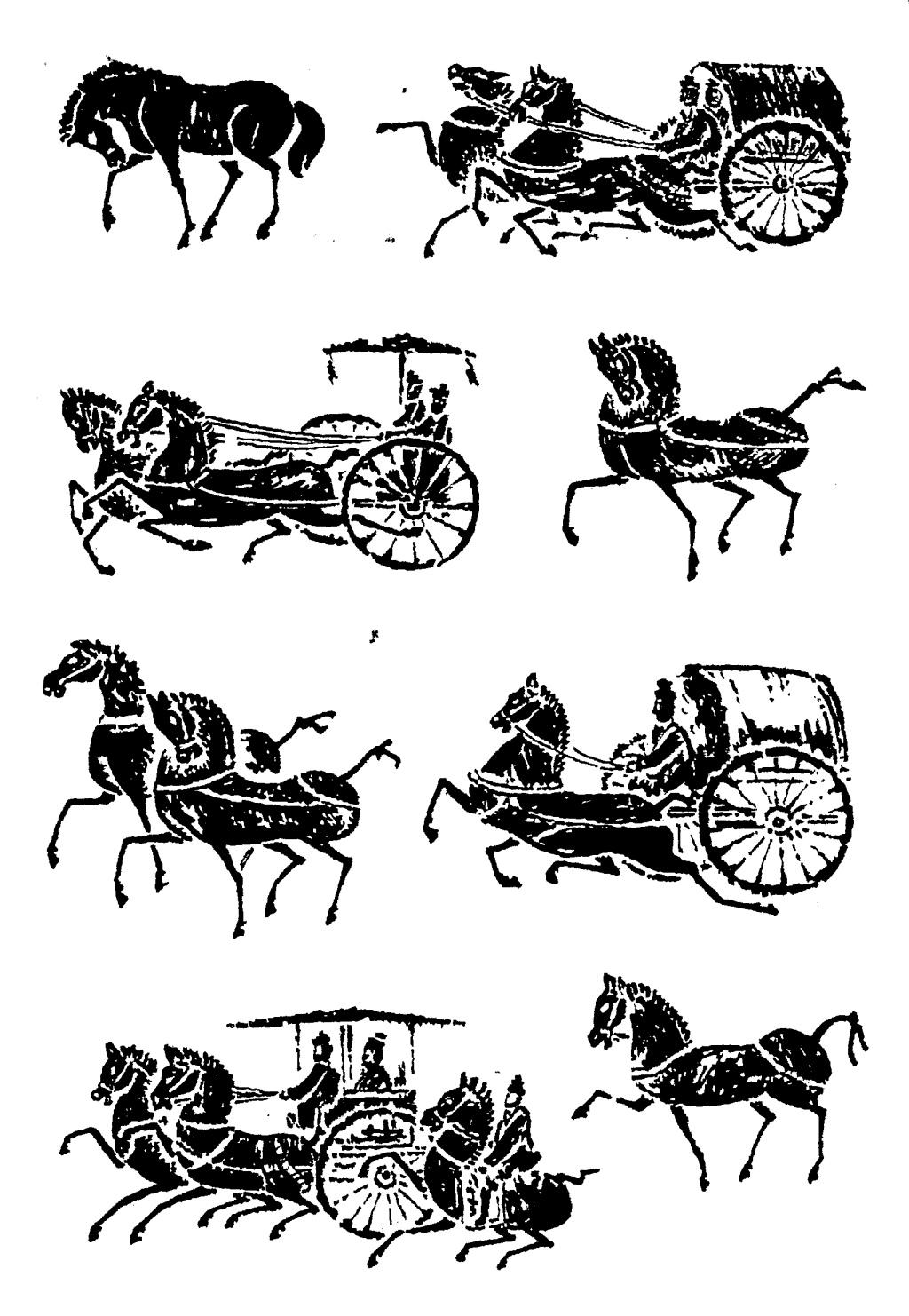 古代马车图片素材