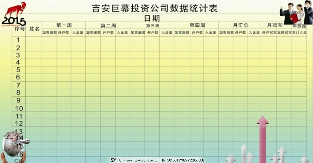 幼儿园班级水龙头统计表