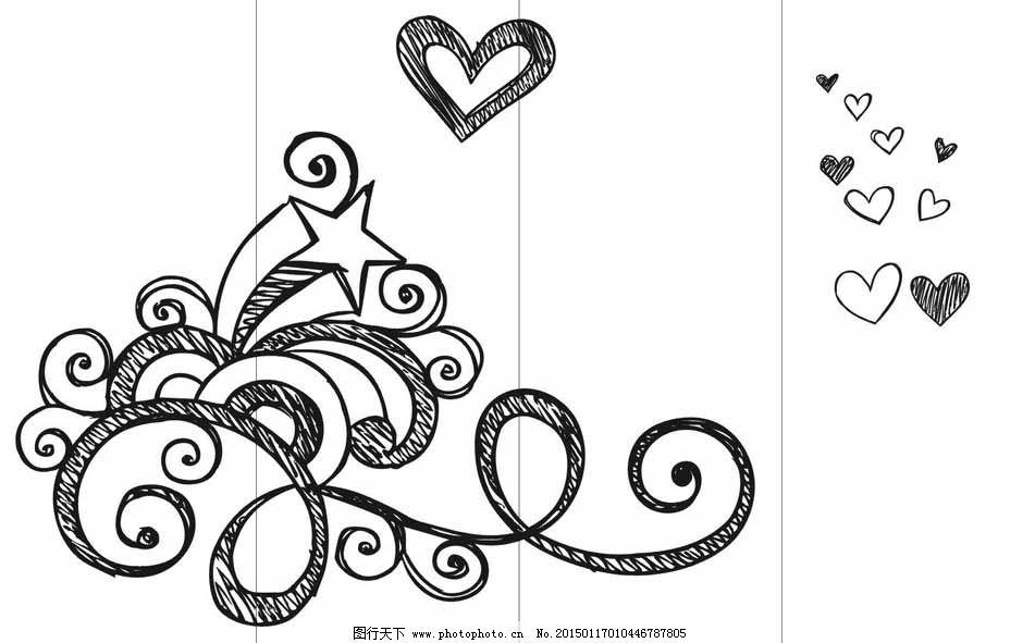 简笔画 设计 矢量 矢量图 手绘 素材 线稿 951_591