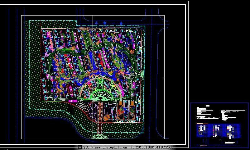 景观设计图 建筑图纸 cad图纸 cad素材 景观图纸   上传: 2015-1-18