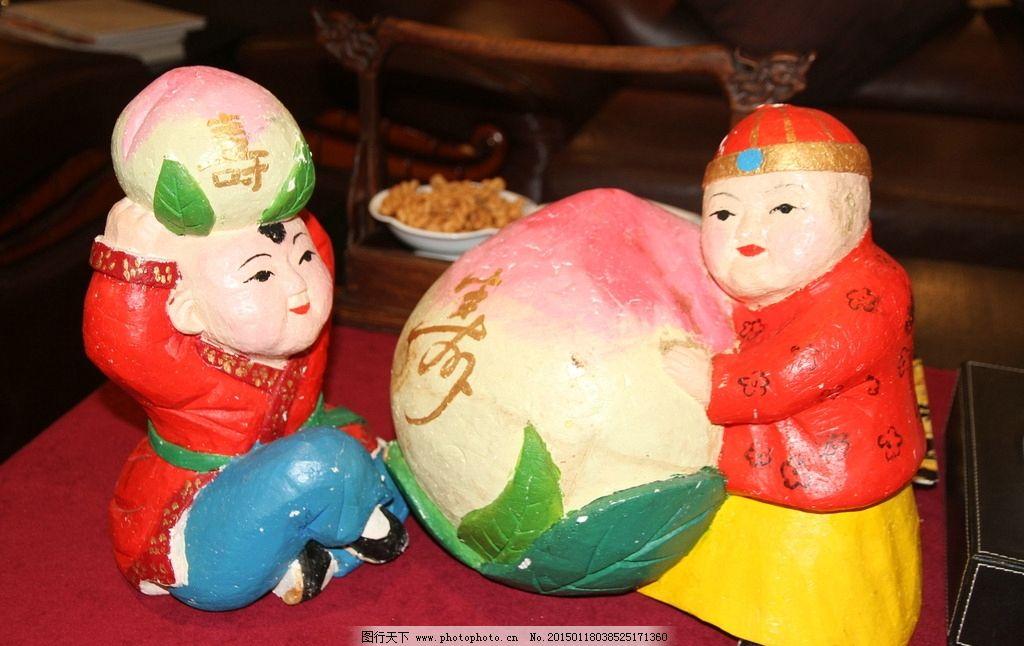 幼儿园手工折纸寿桃