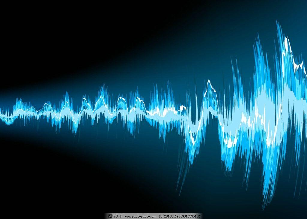 音频 音乐 信号 波形 动感音乐背景 矢量 eps 设计 文化艺术 舞蹈音乐