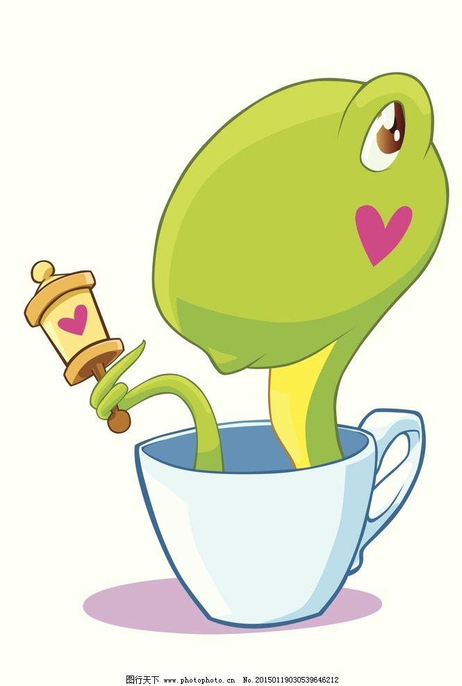 十二生肖 动物 卡通 漫画 生肖 蛇 设计 动漫动画 其他 300dpi jpg