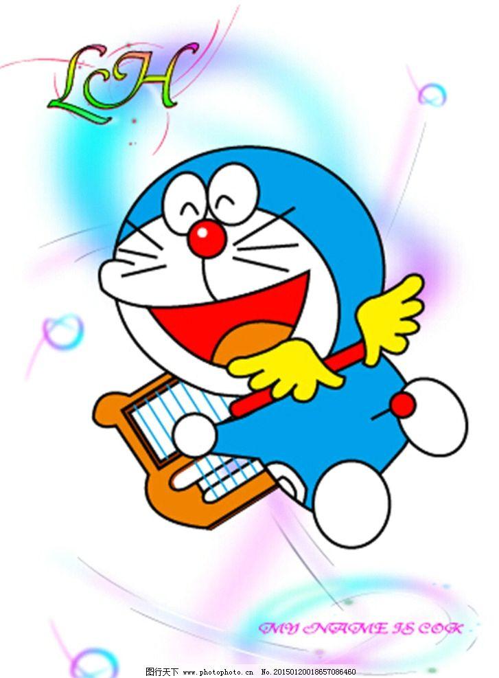 哆啦a梦图片,完美 高清 精致 英文 动漫动画-图行天下