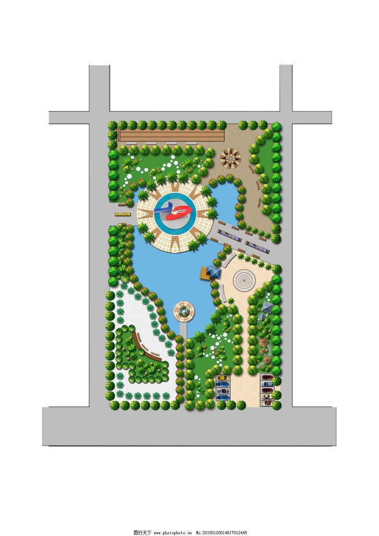 广场平面图 广场平面图免费下载 雕塑 原创设计 其他原创设计