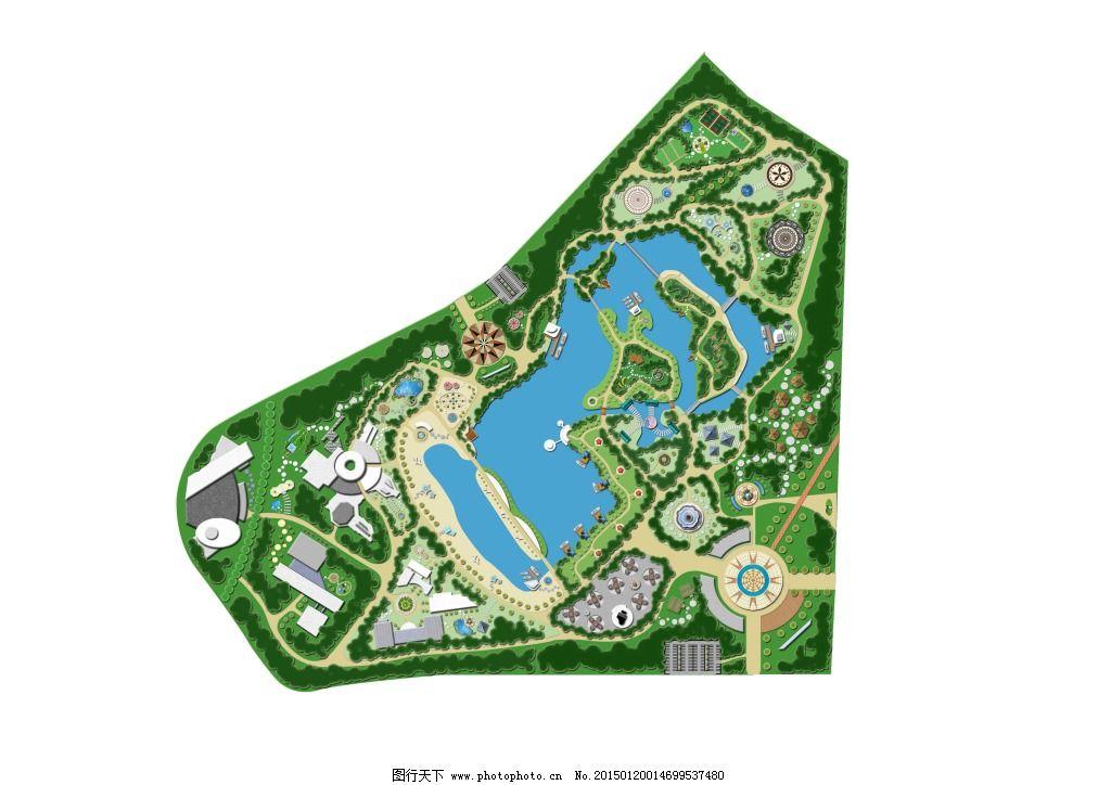 公园平面图免费下载 psd 公园 平面图 公园 平面图 psd 原创设计 其他
