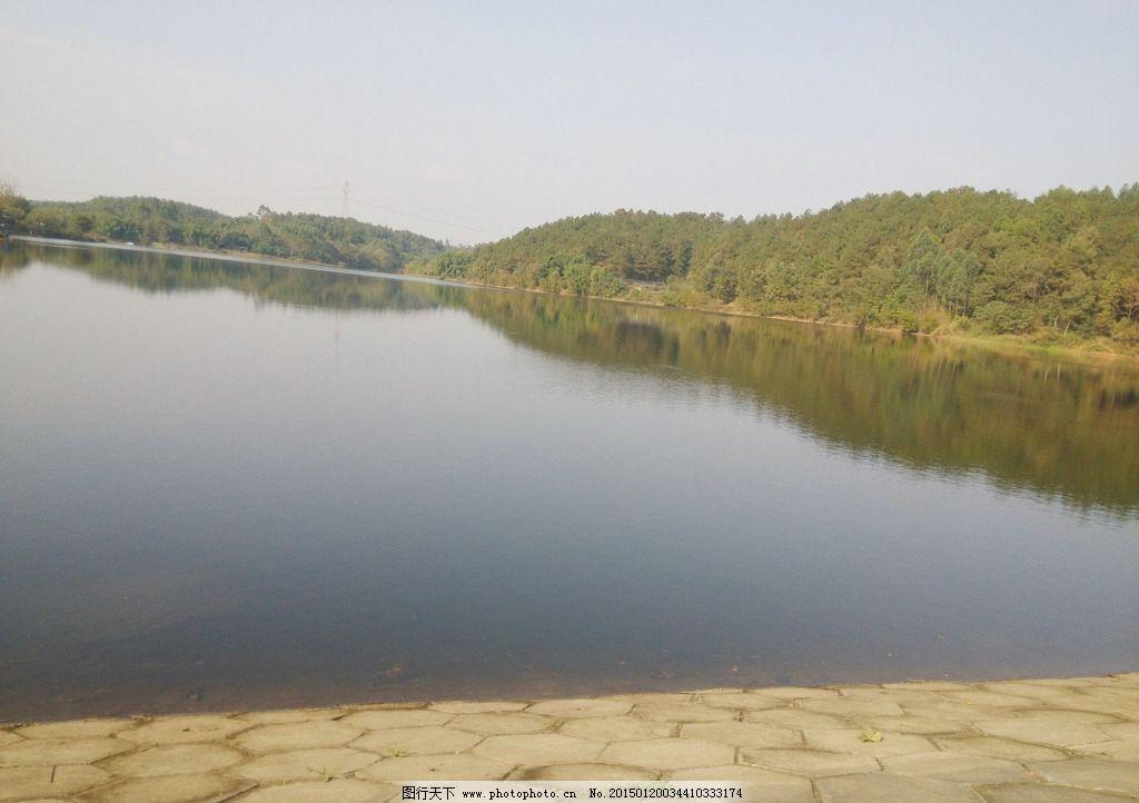 堤坝风景图片