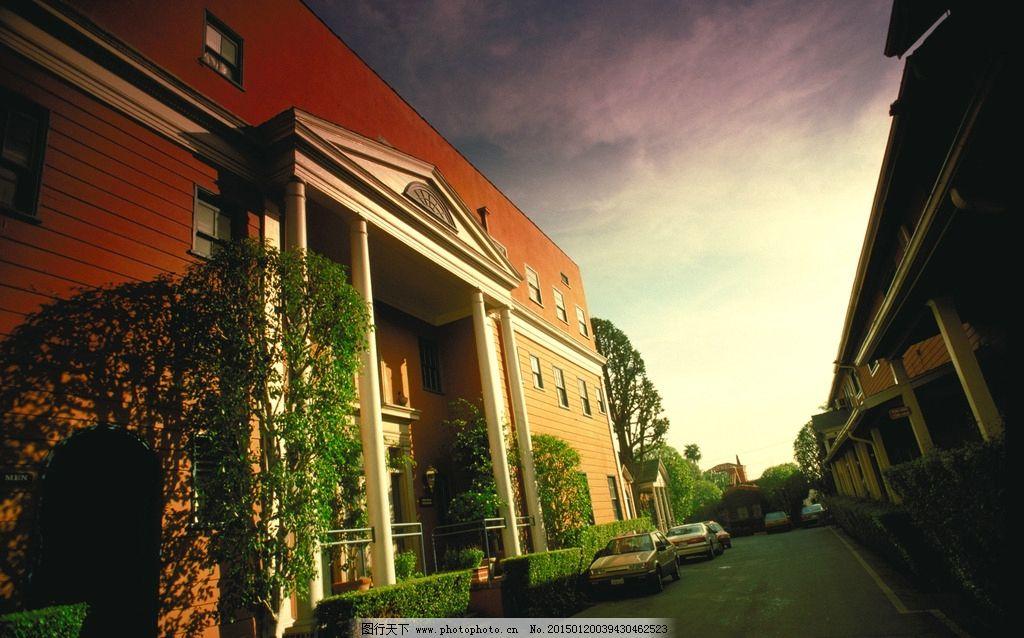 城堡 别墅 房屋 阁楼 西方建筑 欧式建筑 摄影 建筑 自然风光 自然