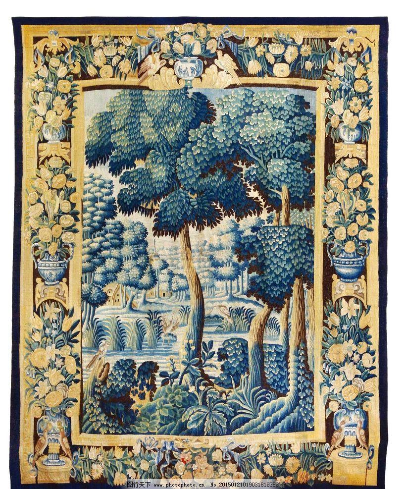 地毯画图片