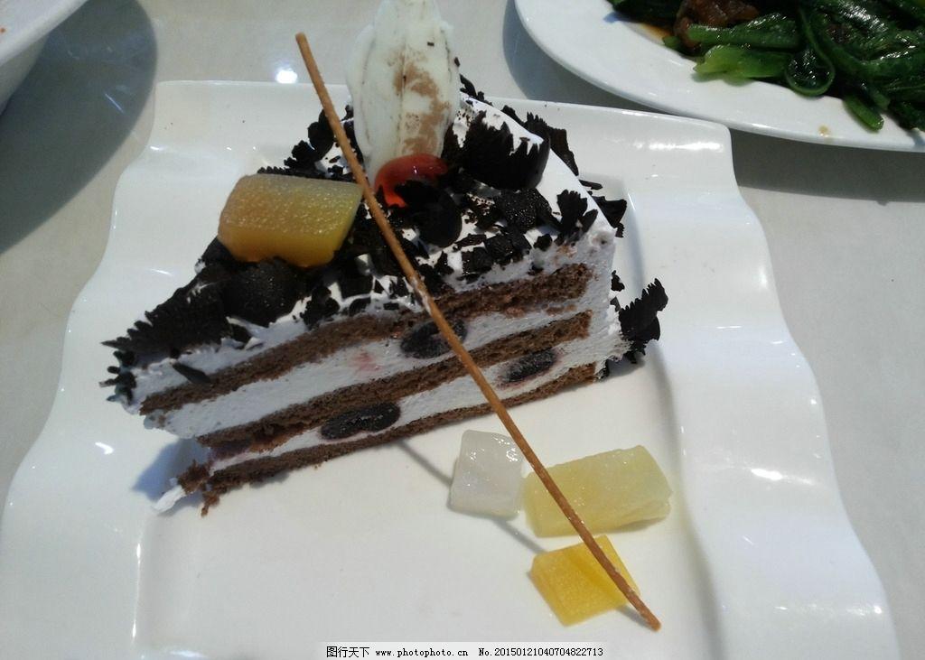 蓝莓慕斯蛋糕 蓝莓 慕斯 蛋糕 甜点 点心 水果 黑森林 摄影 餐饮美食