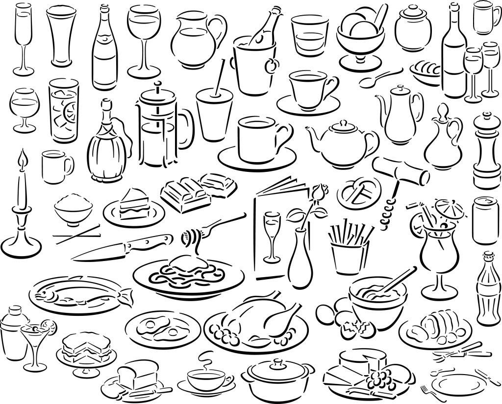 手绘图标免费下载 食品图标 手绘 图标 手绘 图标 线条icon 食品图标