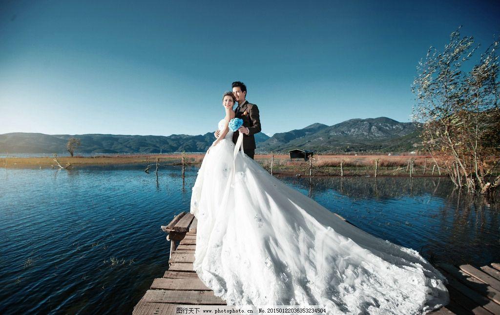 婚纱摄影 人像摄影 婚纱照片 新娘 婚纱礼服 婚纱样片 唯美婚纱照