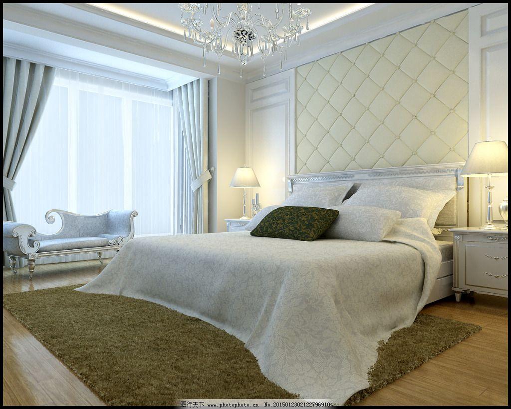 简欧式卧室