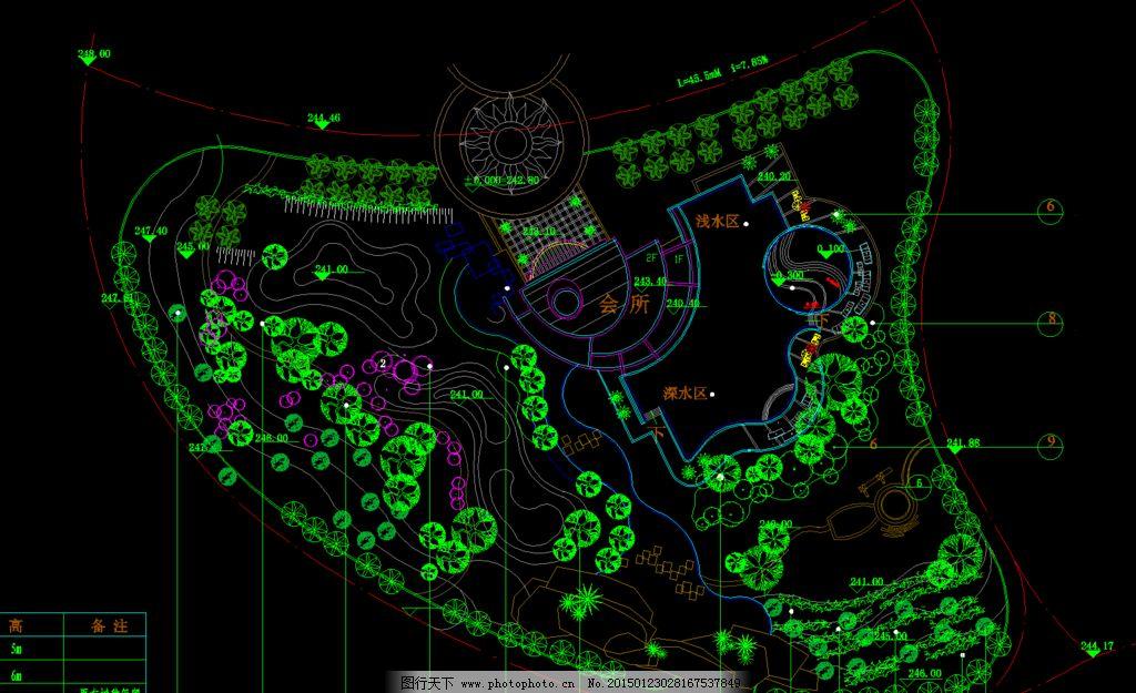 南方临里中心植物配置表图片_景观设计_环境设计_图行