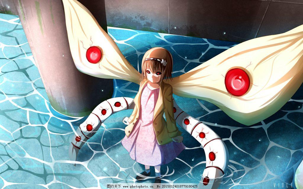 喰种少女免费下载 动漫 动漫 东京喰种 赫子 图片素材 卡通动漫可爱