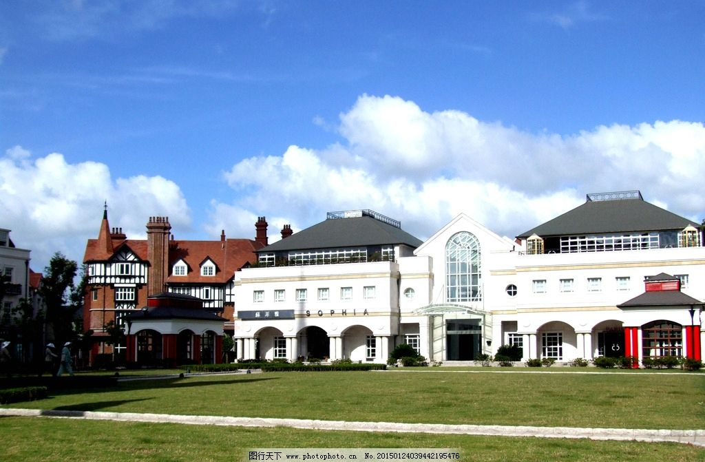 英国小镇 欧式建筑 建筑摄影 建筑园林 小楼