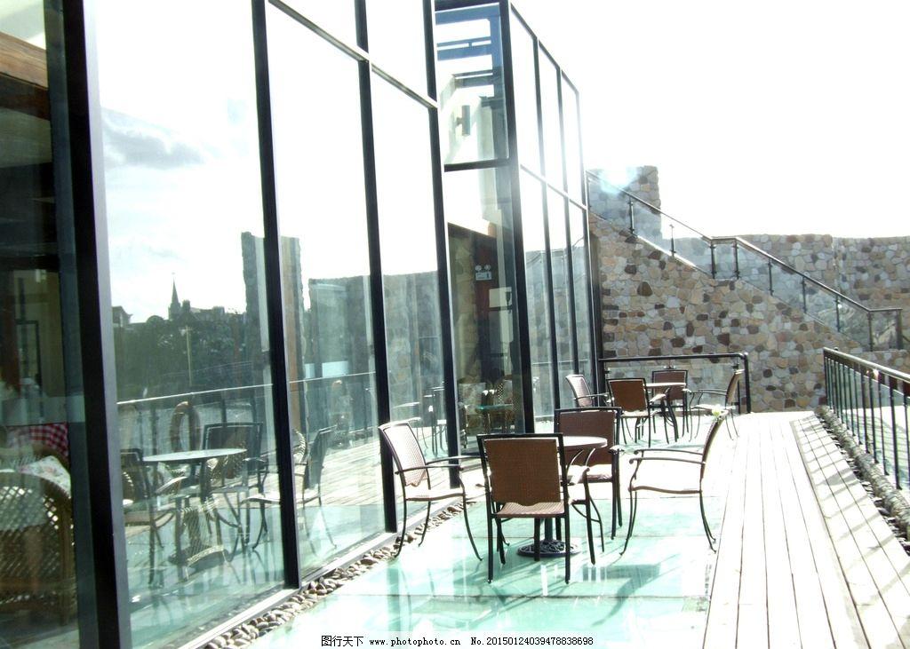 玻璃/英国小镇建筑 玻璃房图片