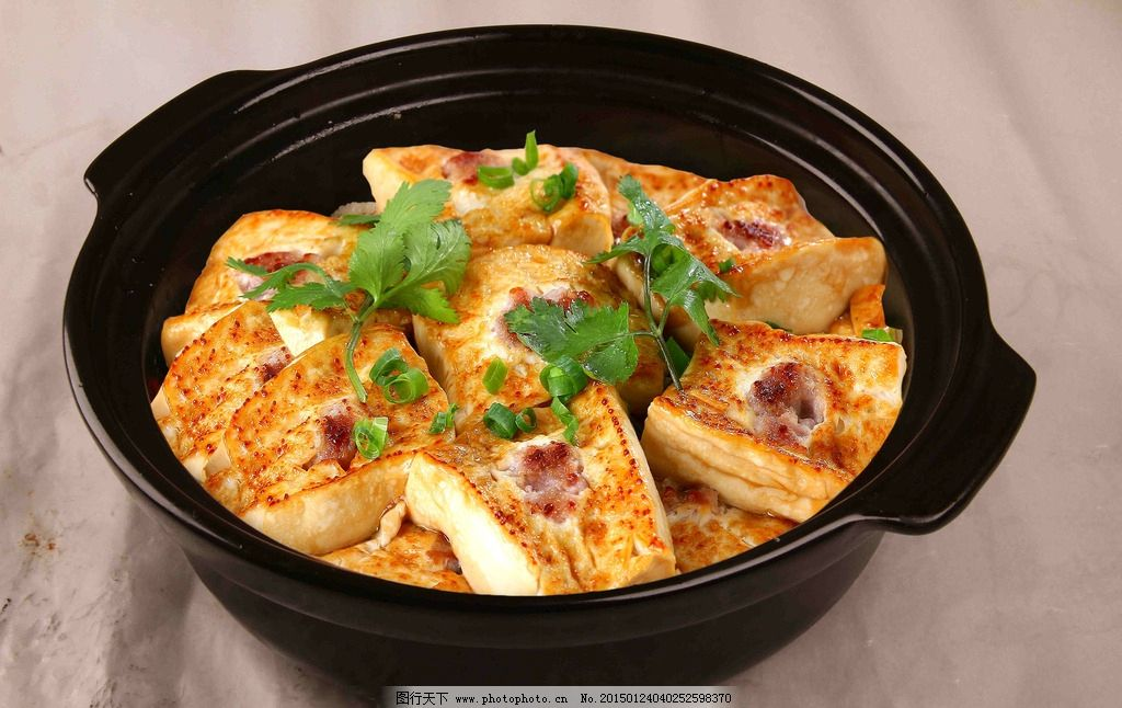 豆腐煲客家酿豆腐让豆腐图片
