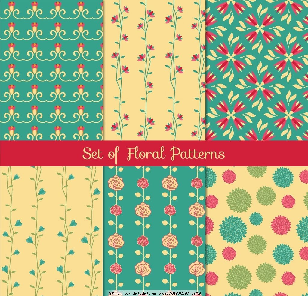 背景 花纹 复古      设计 底纹 波点 植物 花朵 ai 设计 底纹边框