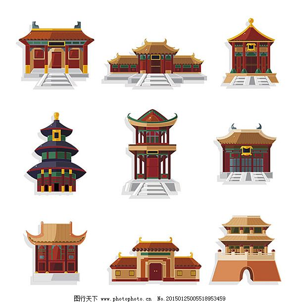 精美中国名胜古迹素材