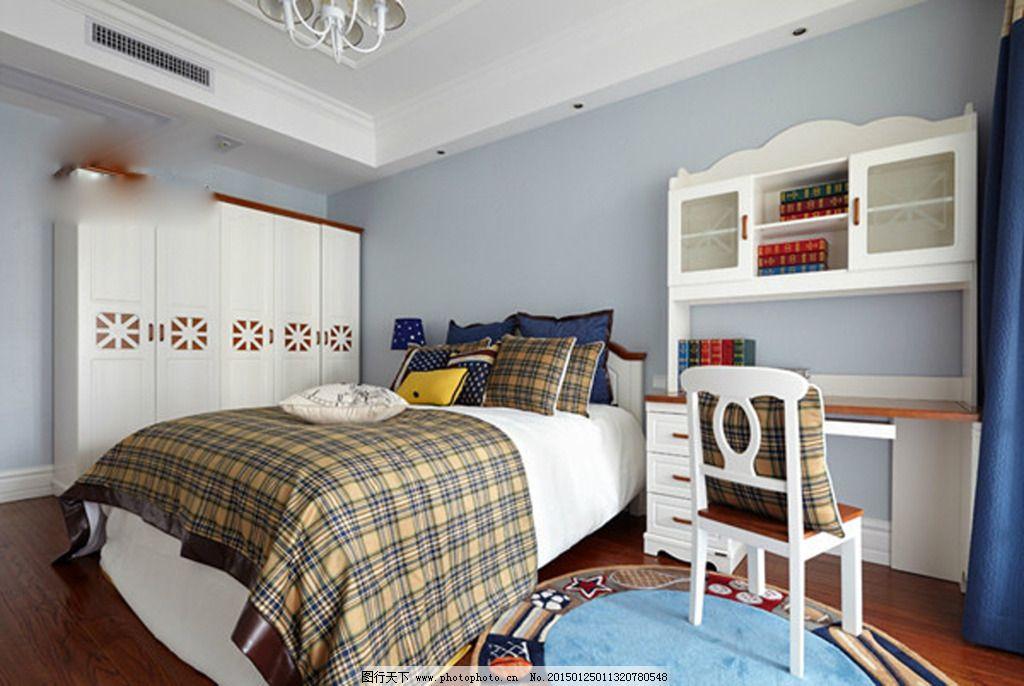 室内卧室 室内卧室免费下载 地板 柜子 花瓶 画框 落地灯 木板