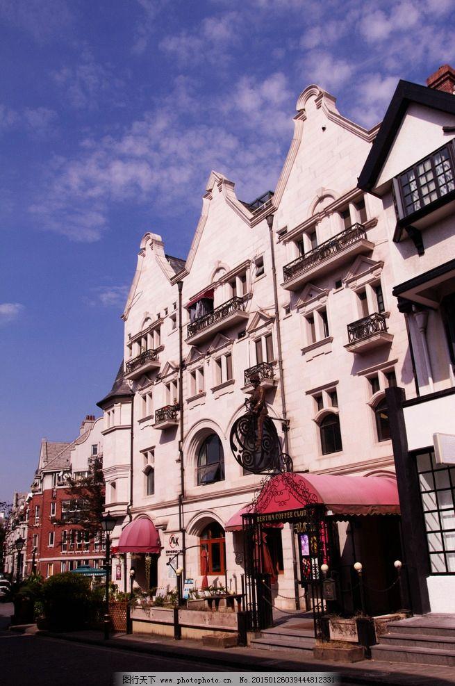 欧式建筑 建筑摄影 高清图片
