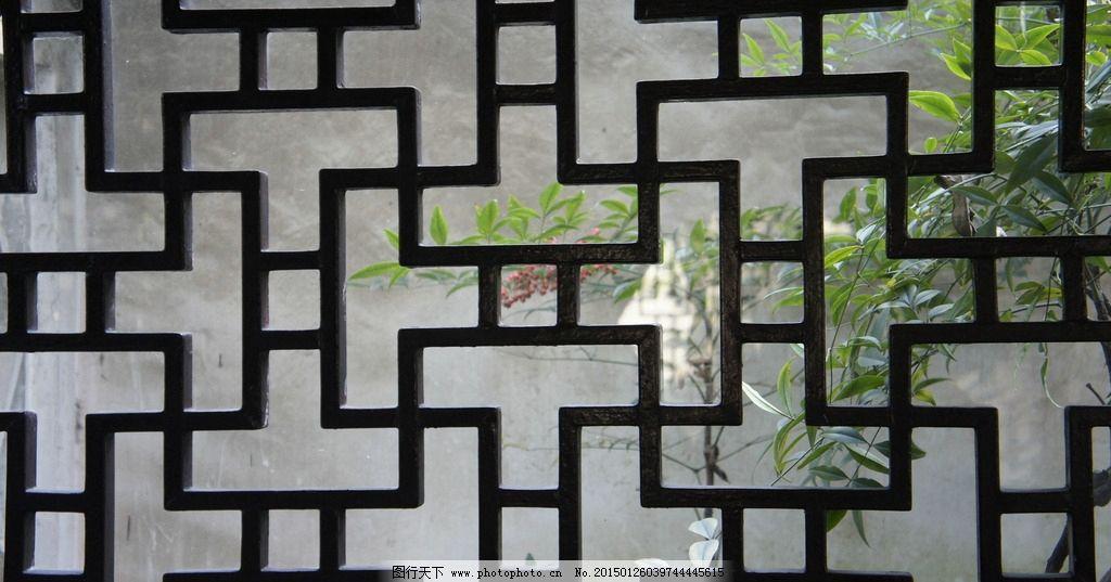 苏州园林简笔画