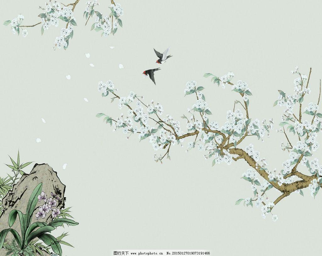 工笔花鸟 手绘 国画 系列