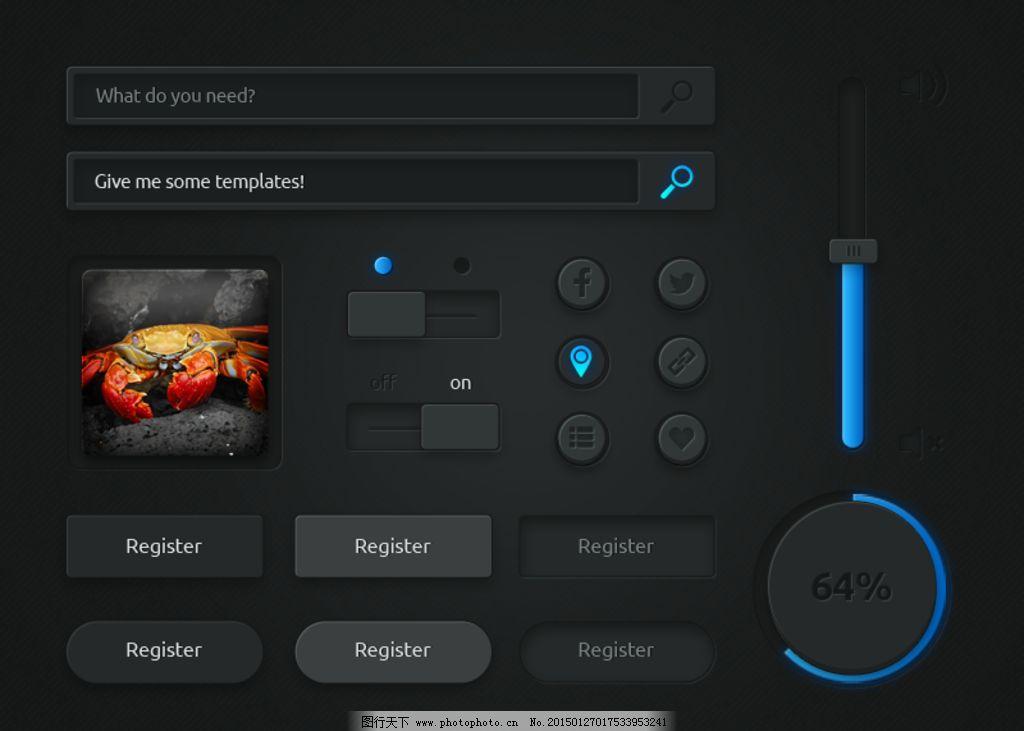 UIv图片图片常用音乐36o控件室内设计全景图片