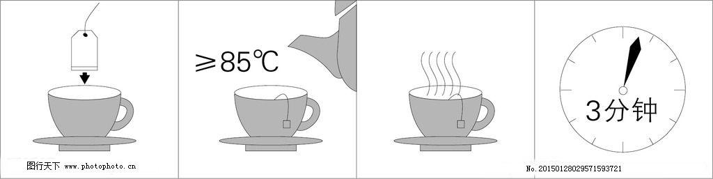 袋泡茶冲泡步骤图片