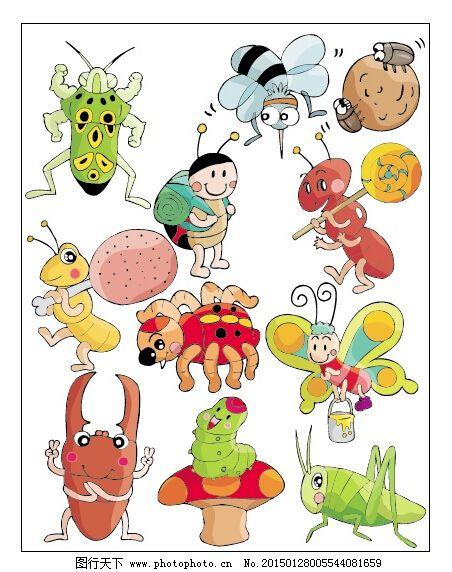 卡通动物系列