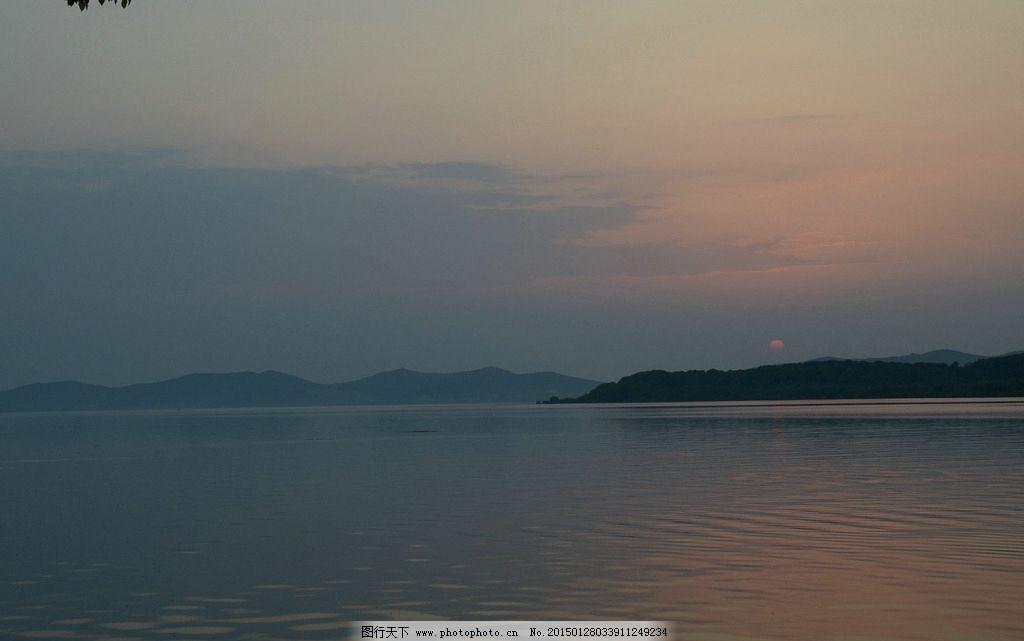 太湖夕阳 唯美 风景 风光 旅行 江苏 落日 日落 黄昏 傍晚