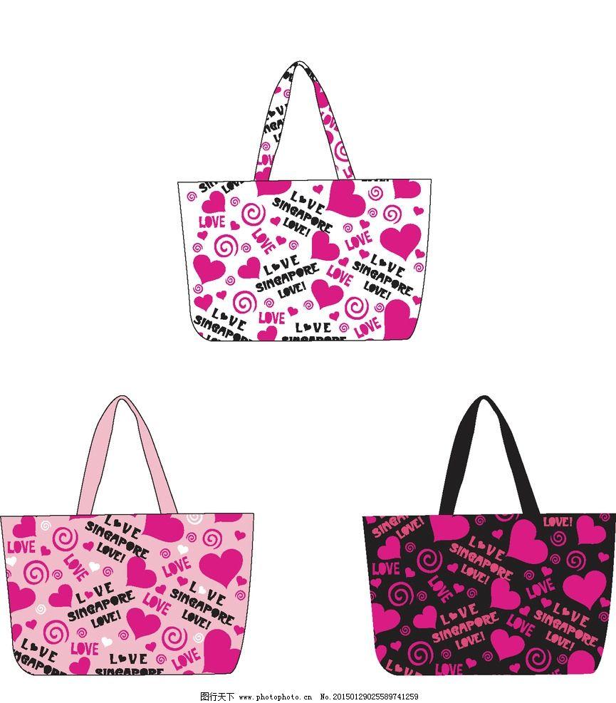 帆布包 环保袋设计 包包设计图片