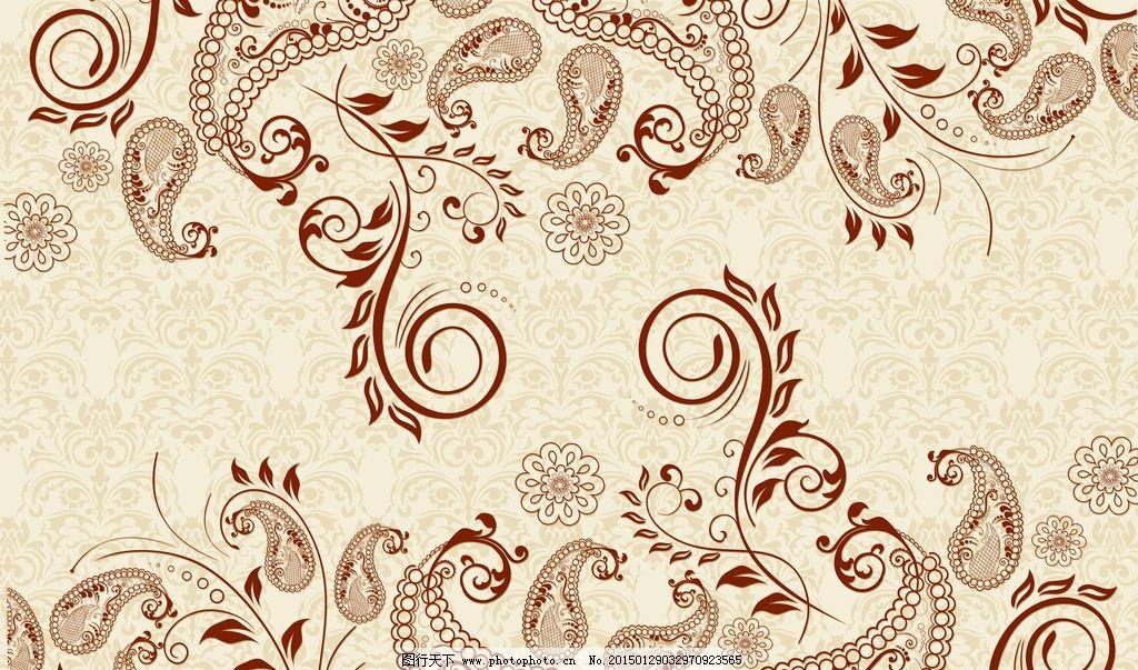 欧式花纹 佩兹利纹样 现代花纹 复古花纹 精致花纹 立体花纹 花边图片