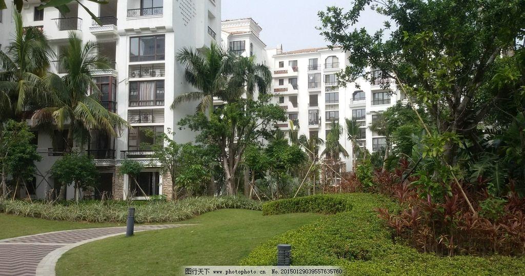 小区景观 景观园林 小区环境 景观设计 住宅楼 园林建筑集锦 摄影