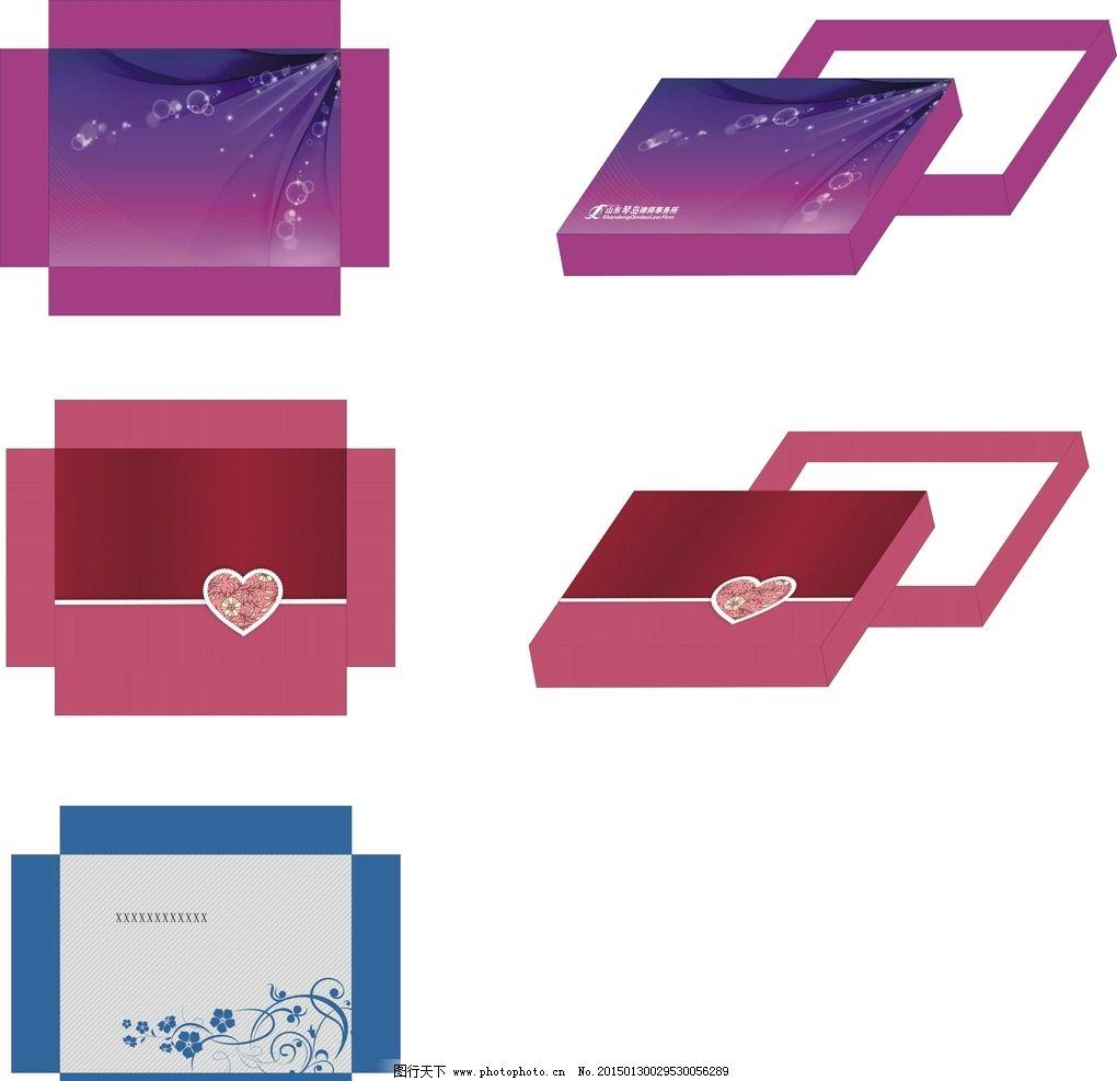 包装盒 礼盒 丝巾盒 衬衫盒 毛巾盒  设计 广告设计 广告设计  cdr