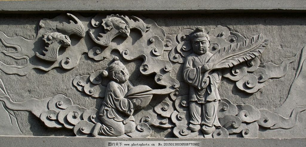 浮雕雕刻图片