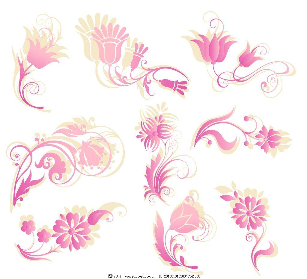 花纹 花纹样式 古典花纹 简约花纹 花纹psd 欧式花纹 花纹底纹 花边