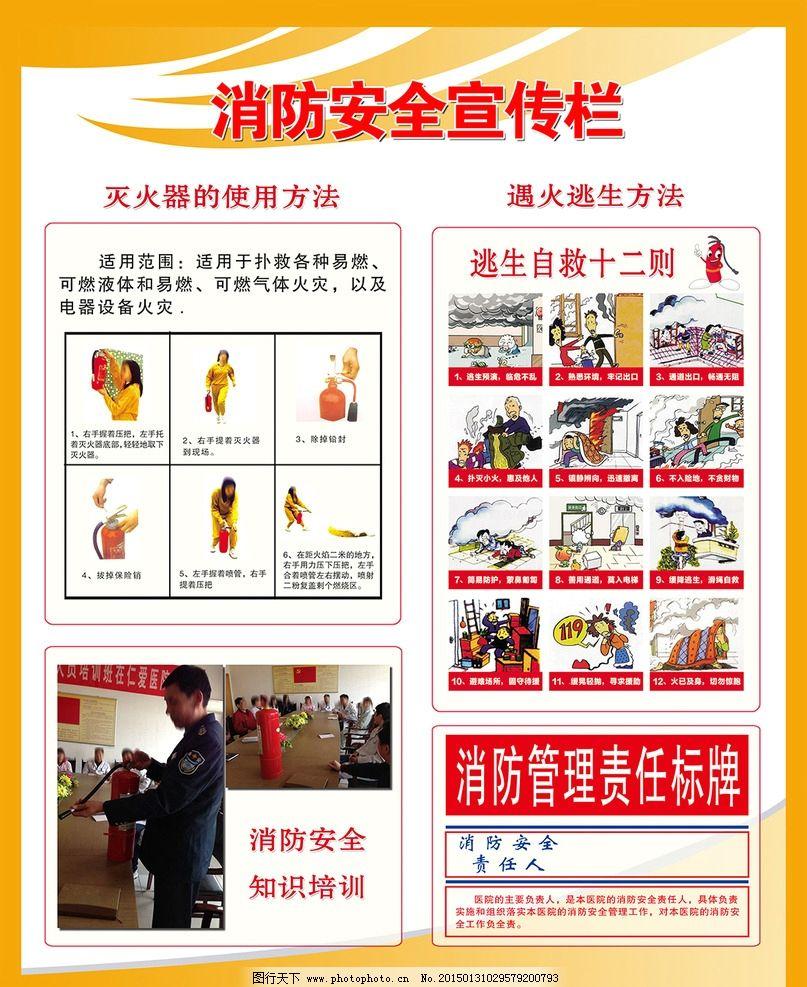 消防安全宣传牌图片