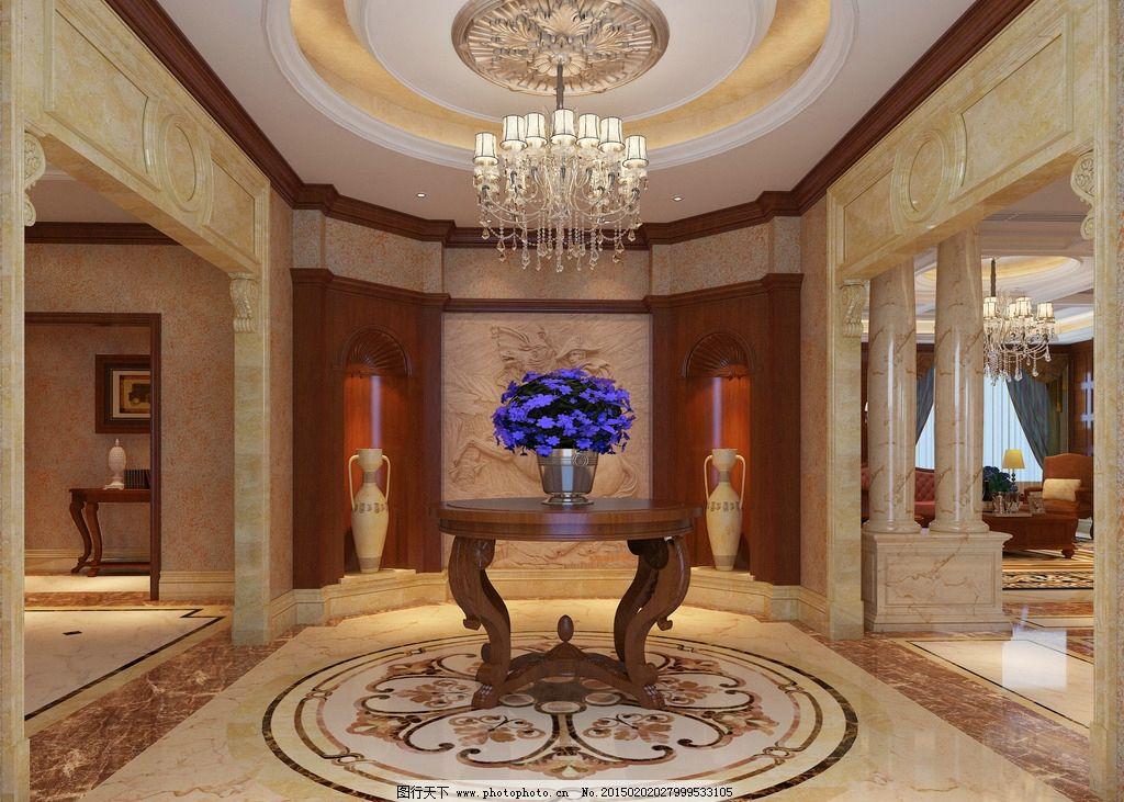 900 平方 别墅 玄关               设计 环境设计 室内设计 72dpi