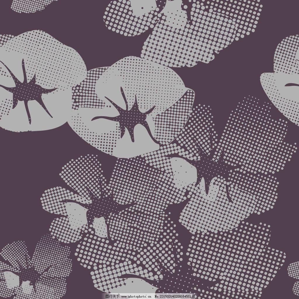 紫色抽象玫瑰花壁纸素材下载