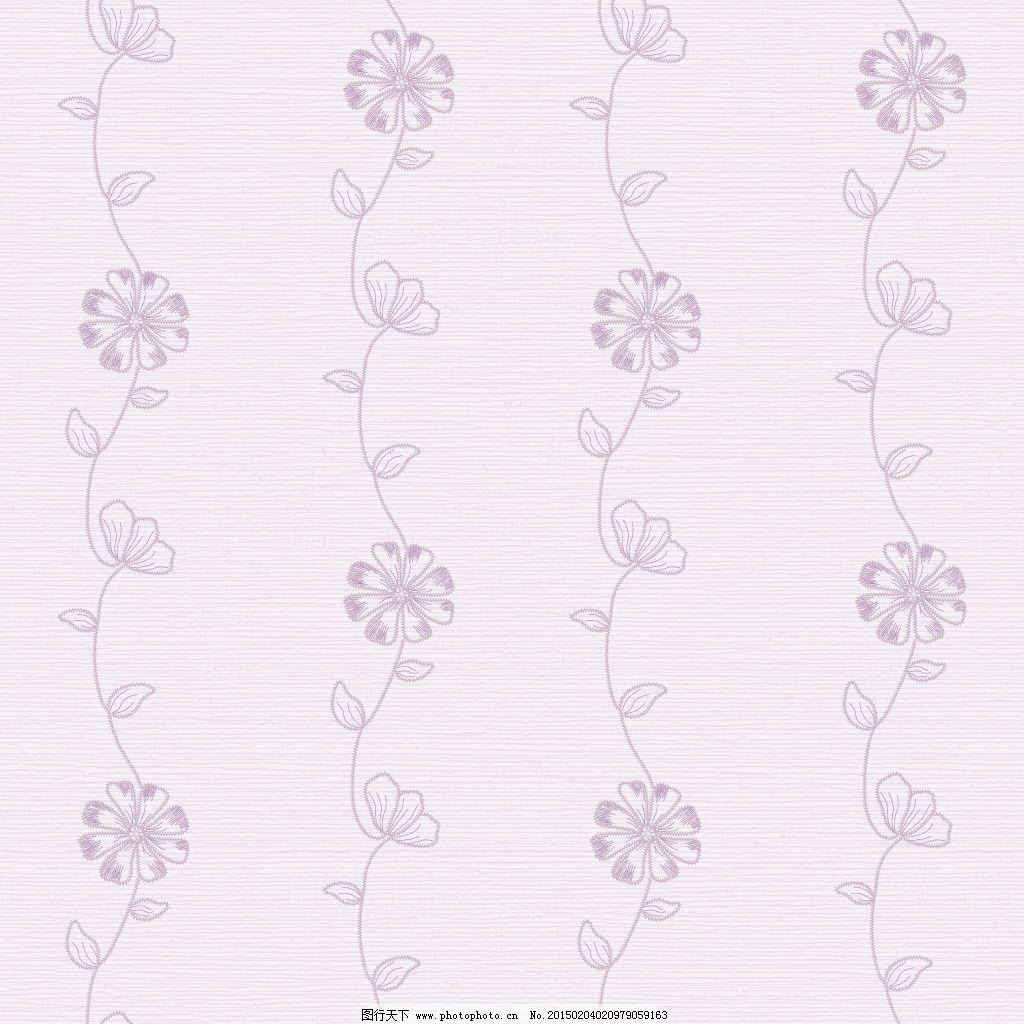 简约紫色小花壁纸素材壁纸下载