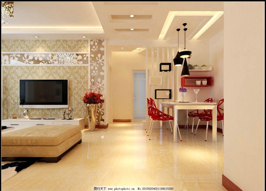 客厅图片,餐厅 套房 现代 简欧 室内-图行天下图库